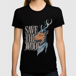 An Unique and Attractive Classy Deer Graphic Design T-shirt