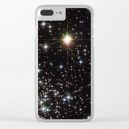 Globular Cluster NGC 6535 Clear iPhone Case