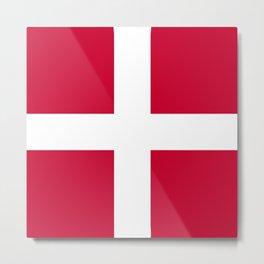 Sovereign Military Order of Malta flag emblem Metal Print