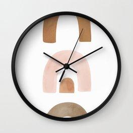 Shapes Wall Clock