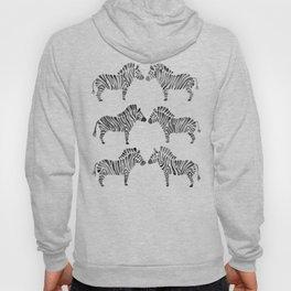 Zebras – Black & White Palette Hoody