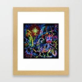 Magician Mushroom Framed Art Print