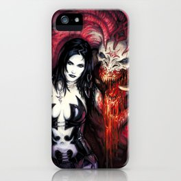 Blood Rituals by BAXA iPhone Case