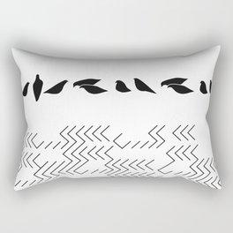 urban birds Rectangular Pillow