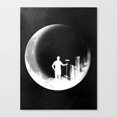 Lunar Theory Canvas Print