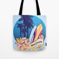 Aloha-friendly surf, summer, beach Tote Bag