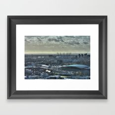 O2 Framed Art Print