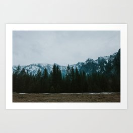 Winter in the Valley Art Print
