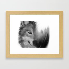 Wolf & Woods Framed Art Print