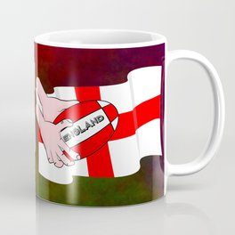 England Rugby Flag Coffee Mug