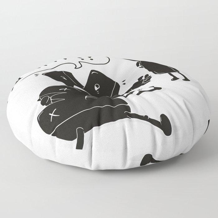 whyyy?! Floor Pillow