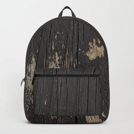 Black Wood Backpack
