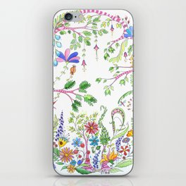 Bucolic forest iPhone Skin