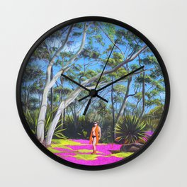 Beck in the Bush Wall Clock