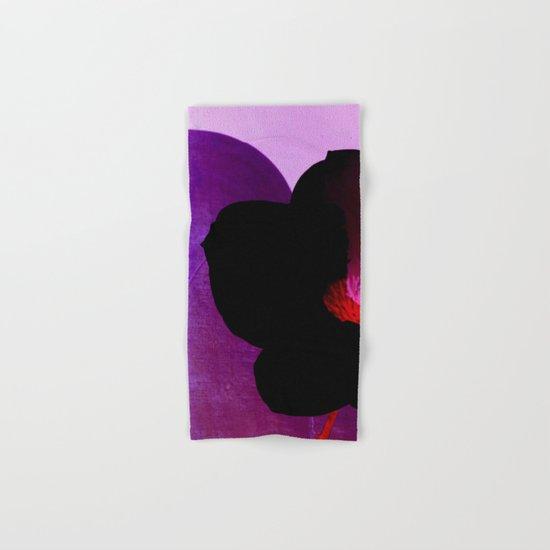 fleur noire Hand & Bath Towel