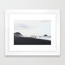Mount Maunganui 2 Framed Art Print