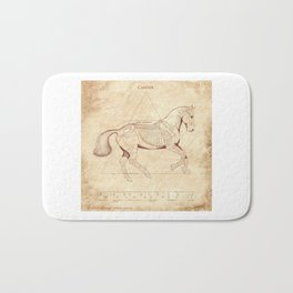 Da Vinci Horse: Canter Bath Mat