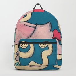 fish kiss Backpack