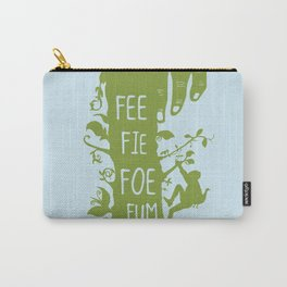 FEE FIE FOE FUM - Jack and the Giant Bean Stalk Carry-All Pouch