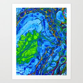 Foreign Cell Art Print