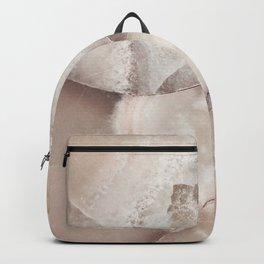 White Quartz Crystal Art Backpack