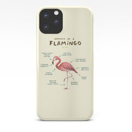 Anatomy of a Flamingo iPhone Case