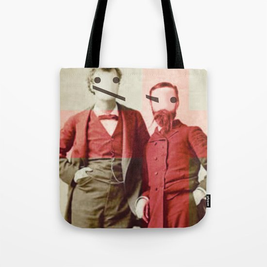 the backslash brothers Tote Bag