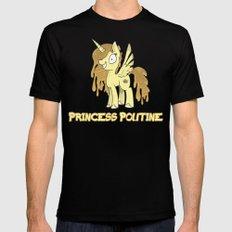 Princess Poutine Black Mens Fitted Tee MEDIUM