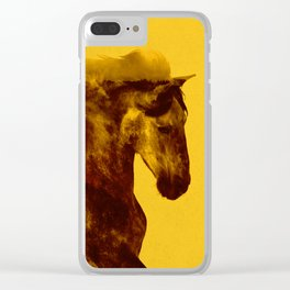Proud Stallion Clear iPhone Case