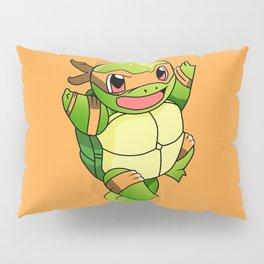 TMNT_POKET_MONSTER_orange Pillow Sham