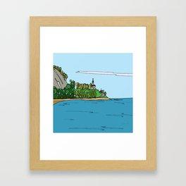 Rivière-à-Claude Framed Art Print