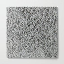 Texture #15 Popcorn ceiling. Metal Print
