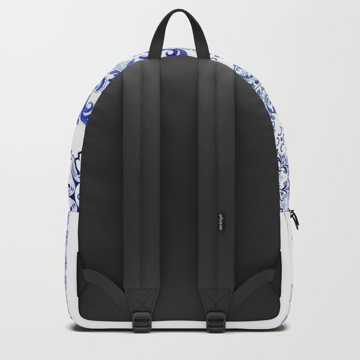 azulejos - Portuguese painted tiles Backpack