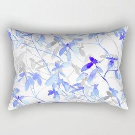 Premonition (Blue Grey) Rectangular Pillow