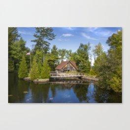 Michigan Cottage Canvas Print