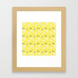 Greg Pattern Framed Art Print