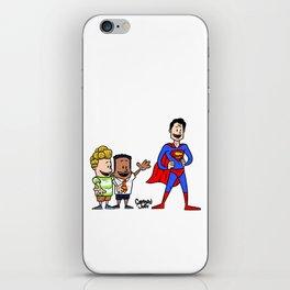 Super captain underpants iPhone Skin