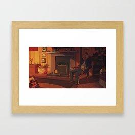 Anton's loneliness Framed Art Print