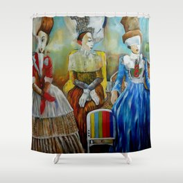El Patio Shower Curtain