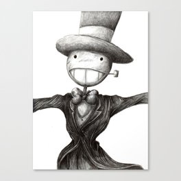 Mr. Turnip Head Canvas Print