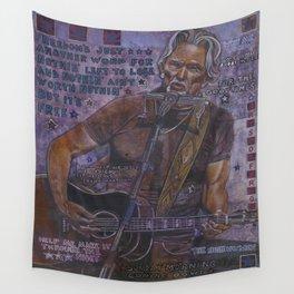Kris Kristofferson Wall Tapestry