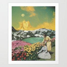Golden Eden Art Print