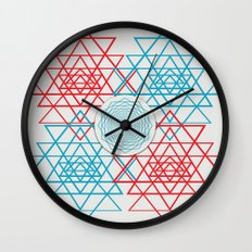 Geometrical 001  Wall Clock