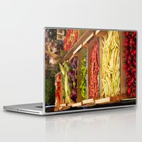 vegetables Laptop & iPad Skins featuring Vegetables by Toni-Ann Langella