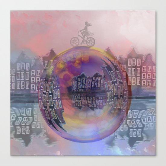 All bubbles are magical Canvas Print