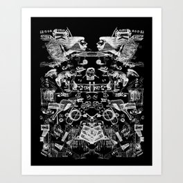 The road to Sochi Art Print