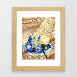 Dripping in Gogh (part 2) Framed Art Print