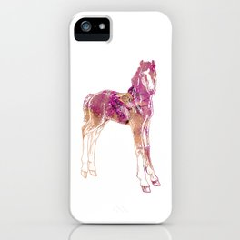 Standing Foal iPhone Case