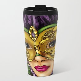 Masquerade Metal Travel Mug