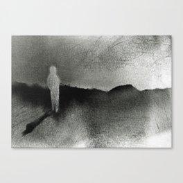 White Walker Canvas Print